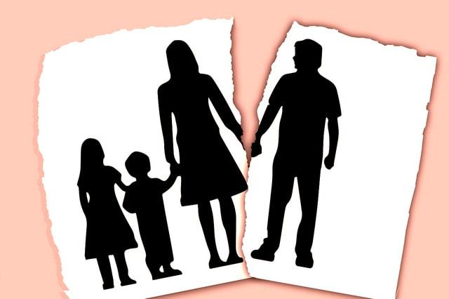 Развод с 2 детьми